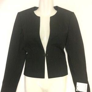 Calvin Klein Dark Gray Blazer Jacket